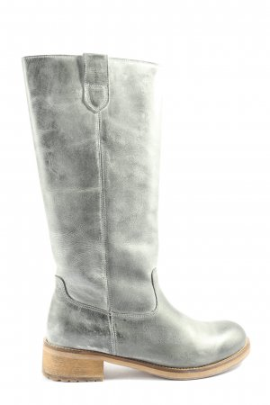 Hip Shoe Style Wide Calf Boots light grey-natural white casual look