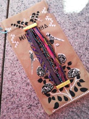 Hipanema Bracelet doré-violet