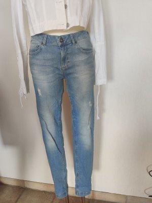 Barbara Becker Stretch jeans lichtblauw Gemengd weefsel