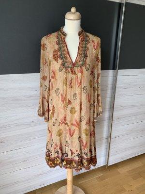 Zara Premium Hippie Dress multicolored