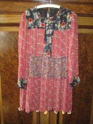Hippie Boho Kleid von Zara Gr. M