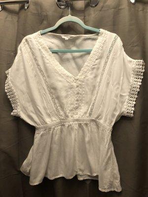Tally Weijl Blusa kimono bianco sporco