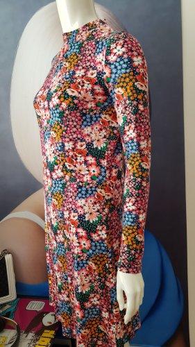 hippie girl boho style blogger floral viskose 159 small DESIGNER DRESS M&S