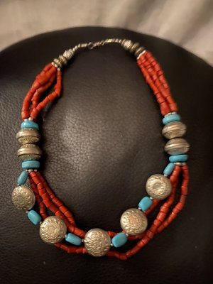 Handed by Statement Necklace multicolored