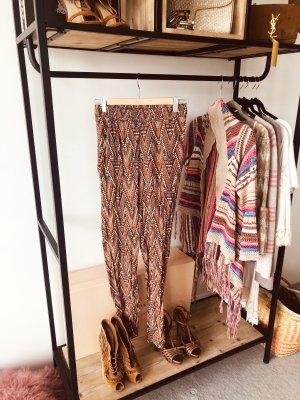 H&M Pantalone alla turca multicolore Cotone