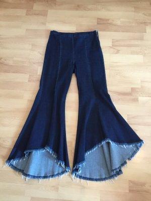 Hippie Jeans blau Größe M