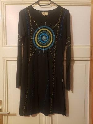 Tijar Fashion Vestido Hippie multicolor