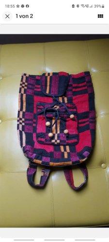 Daypack black-brick red
