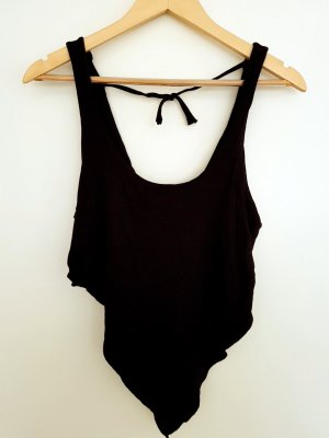andere Marke Backless Top black
