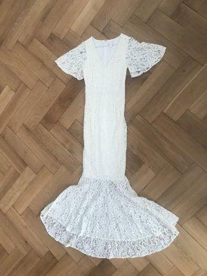 Hippie Spitze Standesamt Kleid Braut