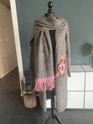 C.P. Twentynine Wool Coat multicolored wool