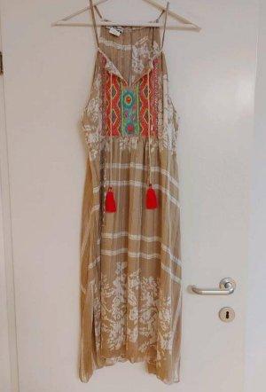 Sukienka boho Wielokolorowy Wiskoza