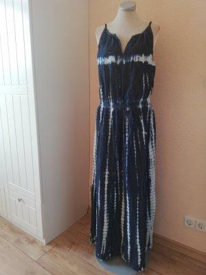 Hippiekleid Batikkleid Maxikleid Kleid lang maxi batik Gr. 40 M L neu Sommerkleid Trägerkleid