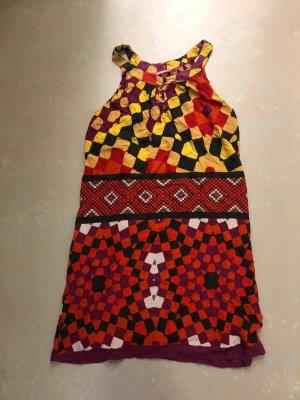 Indiska Vestido Hippie multicolor tejido mezclado