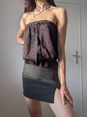 Vintage Haut bandeau noir