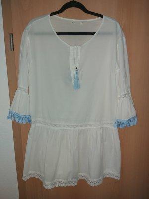 Sukienka boho biały