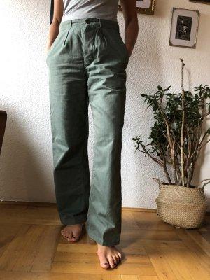 Pantalone di lino cachi