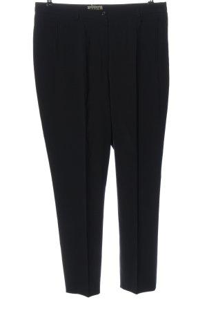 Hirsch Pantalone da abito nero stile professionale