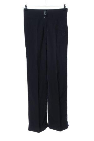 Hirsch Pantalon zwart zakelijke stijl