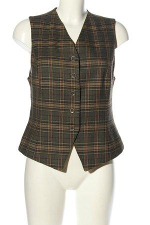 Hirsch Gilet de costume motif à carreaux style d'affaires