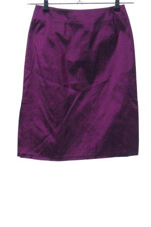 Hirsch Jupe crayon violet style décontracté
