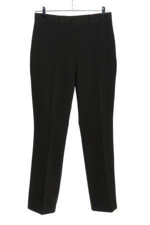 Hirsch Pantalone chino nero stile casual