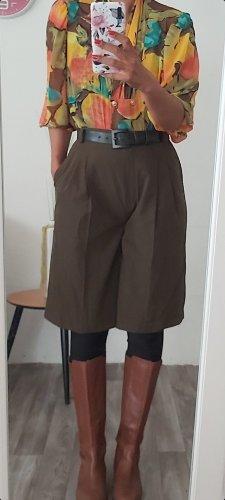 Hirsch Pantalone culotte verde oliva-cachi