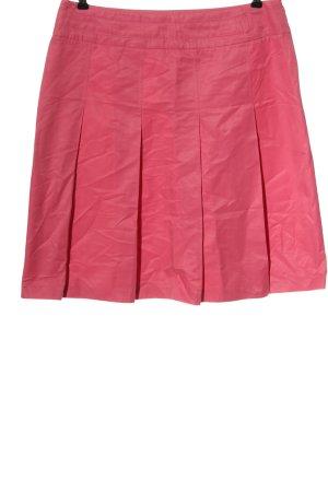 Hirsch Gonna a pieghe rosa stile casual