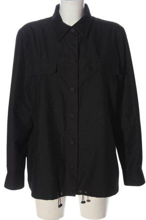Hirsch Camicia blusa nero stile casual