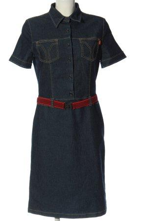 Hirsch Jeansowa sukienka niebieski W stylu casual