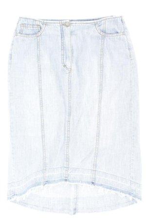Hirsch Gonna di jeans blu-blu neon-blu scuro-azzurro Cotone