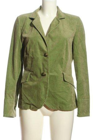 Hirsch Jerseyblazer grün Business-Look