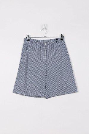 Hirsch Shorts bianco-blu Cotone