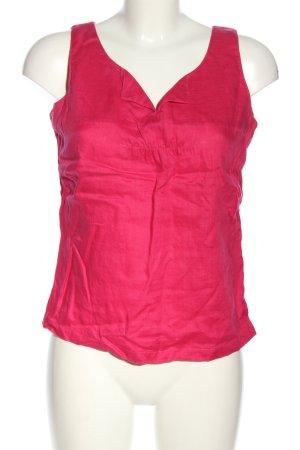 Hirsch Lniana bluzka różowy W stylu casual