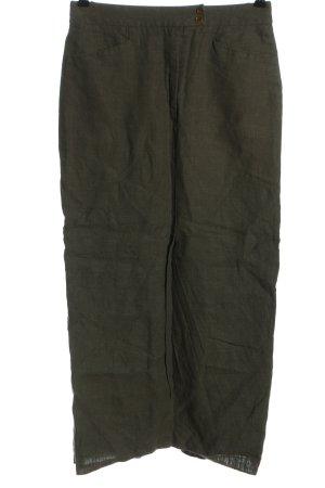 Hirsch Linen Skirt khaki casual look