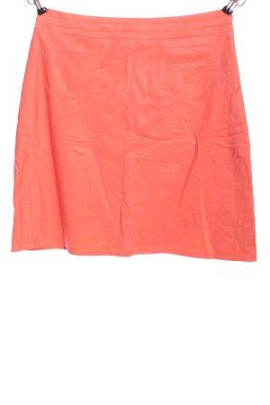 Hirsch Mini rok licht Oranje casual uitstraling