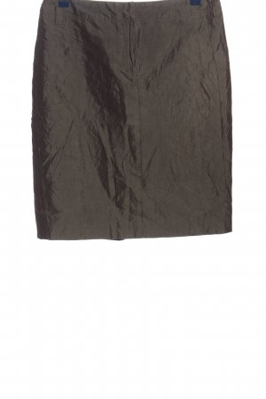 Hirsch Minirock bronzefarben Casual-Look