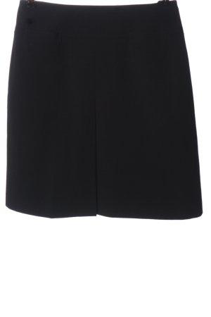 Hirsch Mini rok zwart zakelijke stijl