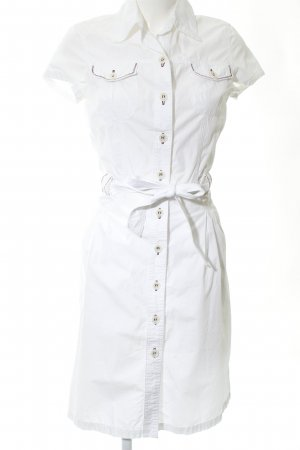 Hirsch Polo Dress white business style