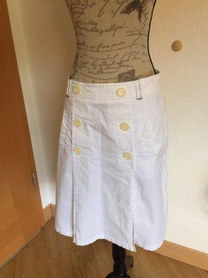 Hirsch Plaid Skirt white