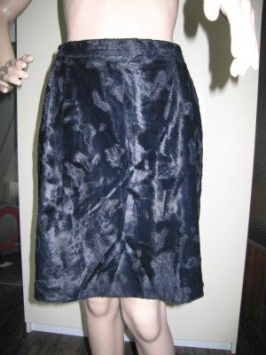 Hirsch Mini rok zwart Gemengd weefsel