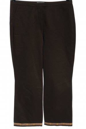 Hirsch Pantalone jersey motivo grafico stile casual
