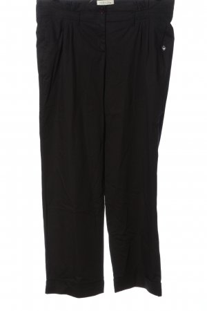 Hirsch Pantalone jersey nero stile casual