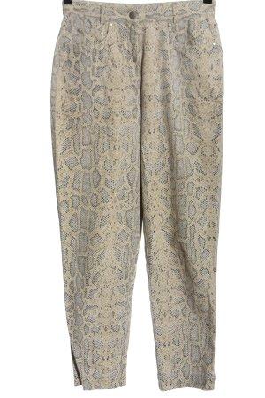 Hirsch Pantalone jersey stampa integrale stile casual