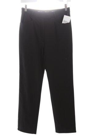 Hirsch Pantalone jersey nero stile professionale