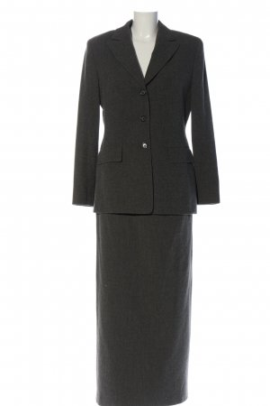 Hirsch Knitted Twin Set black business style