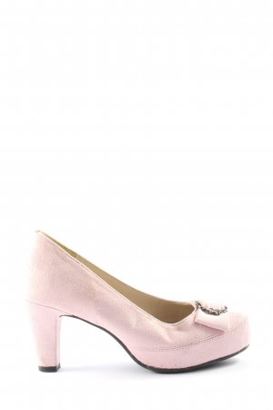 Hirschkogel High Heels pink-silberfarben Casual-Look