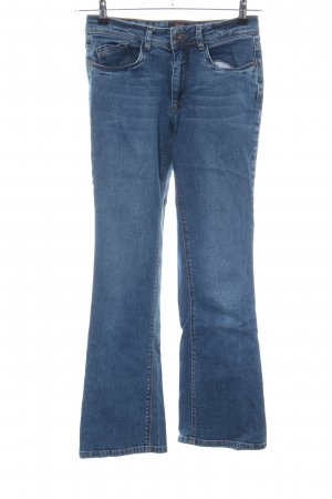 His Boot Cut Jeans blau Casual-Look