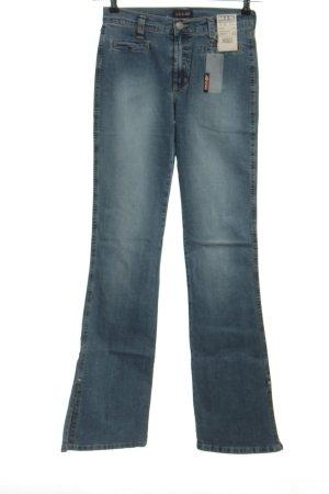 His Boot Cut Jeans blau Casual-Look