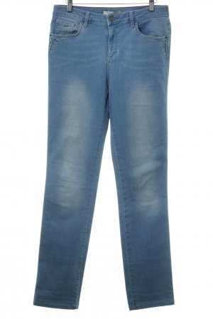 His High Waist Jeans himmelblau Boyfriend-Look